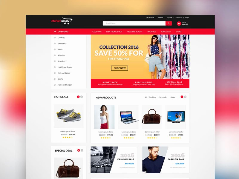 Template for Ecommerce Website Lovely 30 Newest Free Website Templates for 2017graphic Google