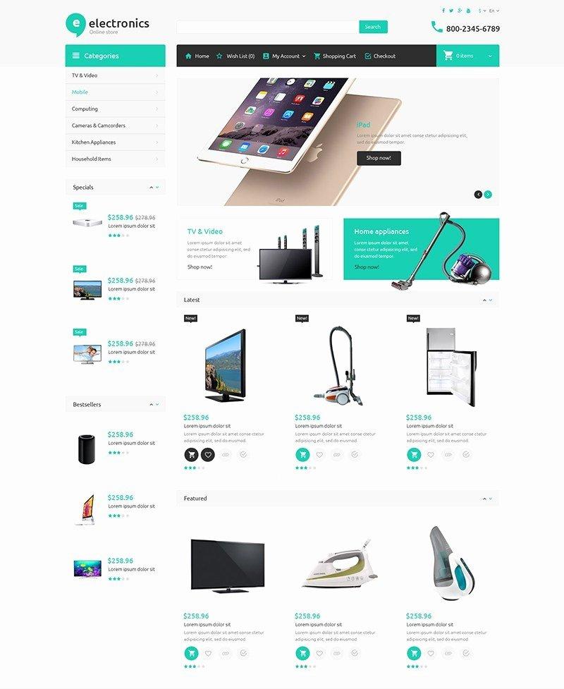 Template for Ecommerce Website Lovely 30 the Best Premium Responsive E Merce themes for