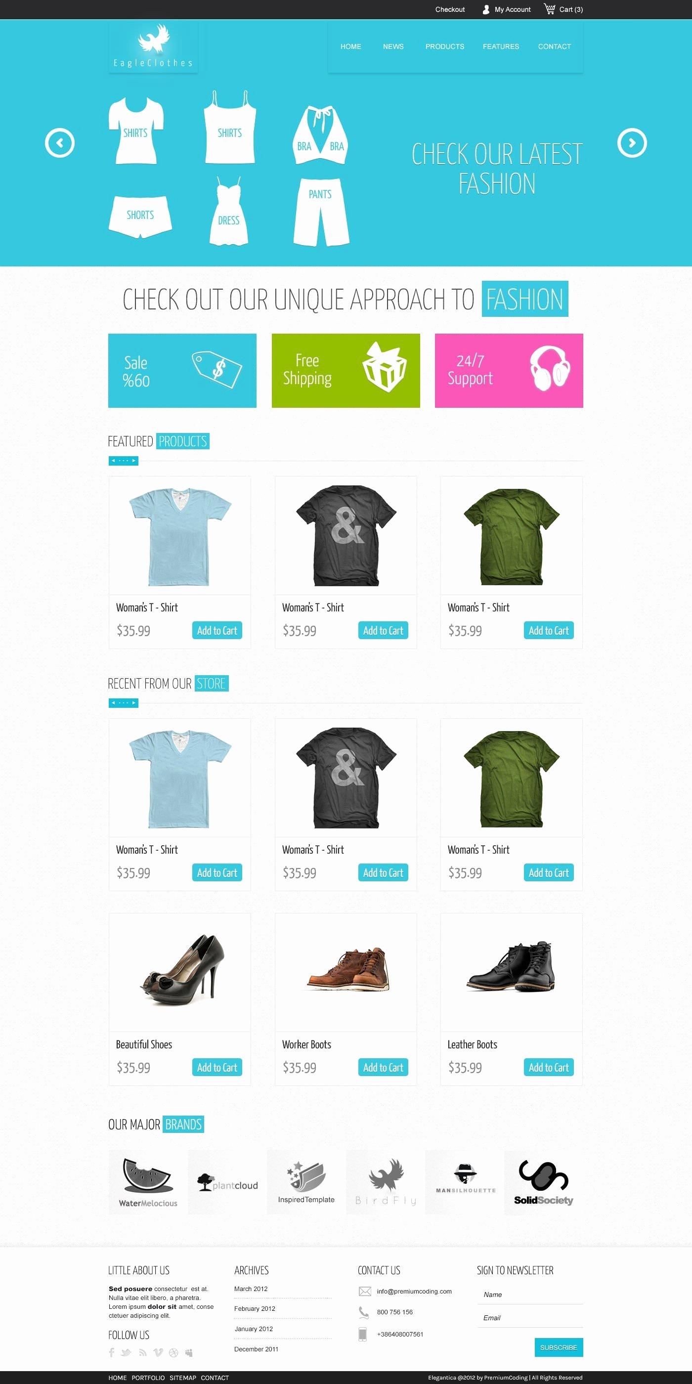 Template for Ecommerce Website Lovely Download 15 Free Psd E Merce Website Designs