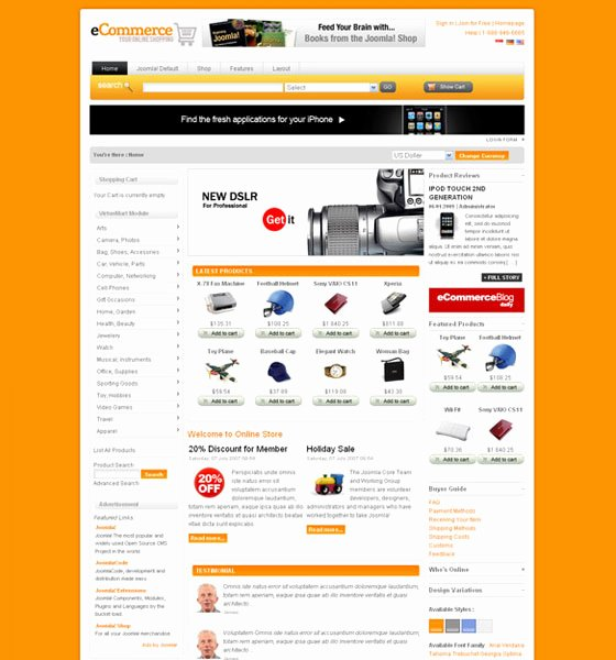Template for Ecommerce Website Lovely Gis tool 20 Joomla E Merce Templates