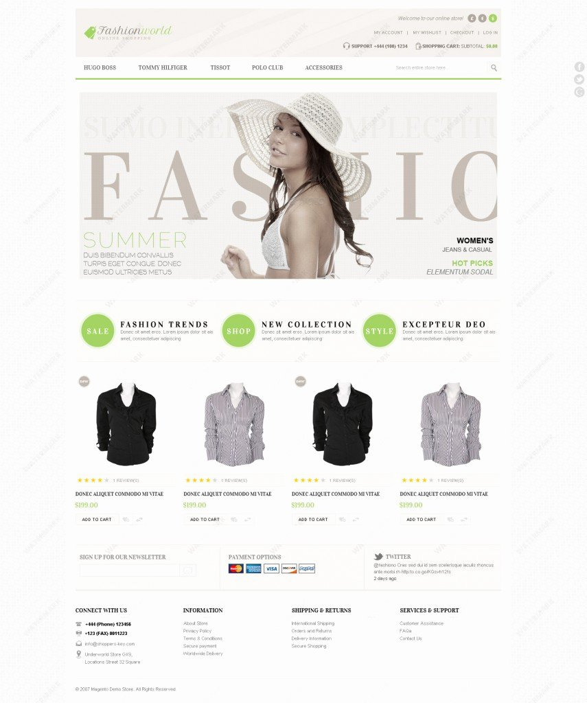 Template for Ecommerce Website Lovely top 20 Fashion & Clothing E Merce Website Templates