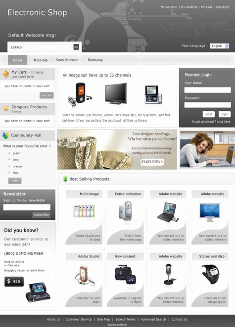 Template for Ecommerce Website New 35 Free High Quality E Merce Templates — Smashing Magazine