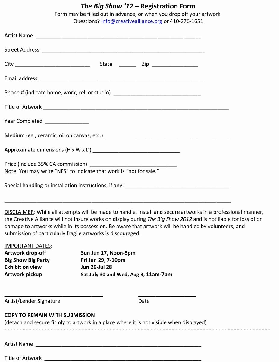 Template for Loan Contract Fresh Free Printable Loan Contract Template form Generic
