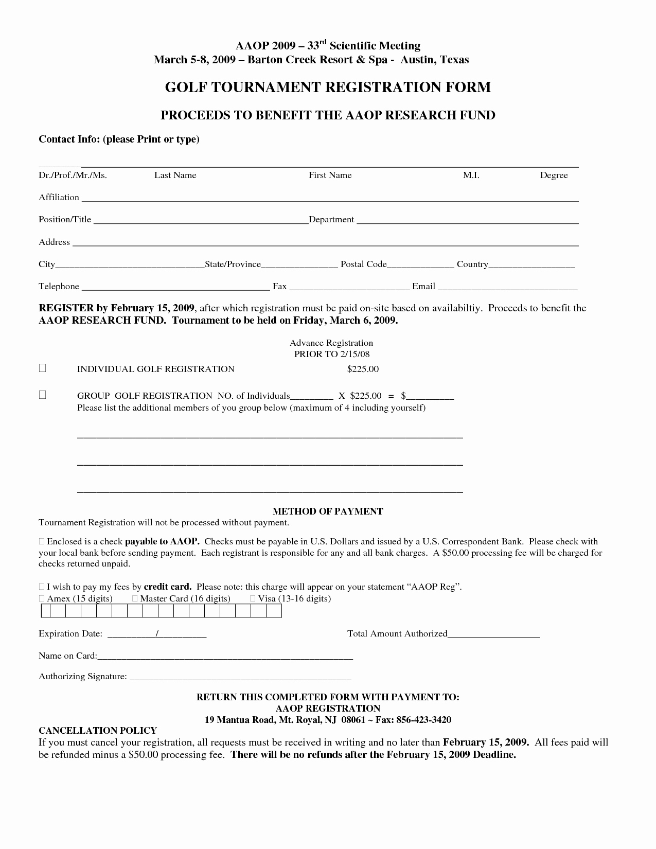 Template for Registration form Fresh Free Registration form Template