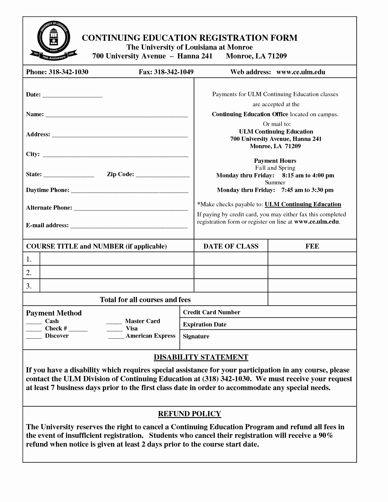 Template for Registration form Unique Student Application form Template Portablegasgrillweber