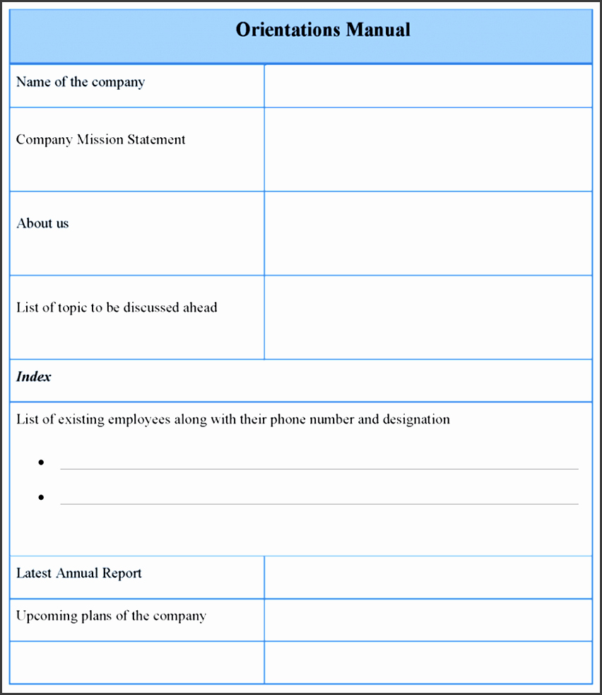 Template for Training Manual Awesome Microsoft Word Training Manual Staruptalent