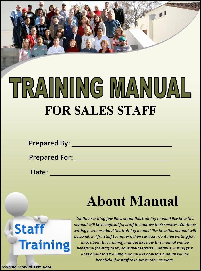 Template for Training Manual Awesome Training Manual Template Best Word Templates