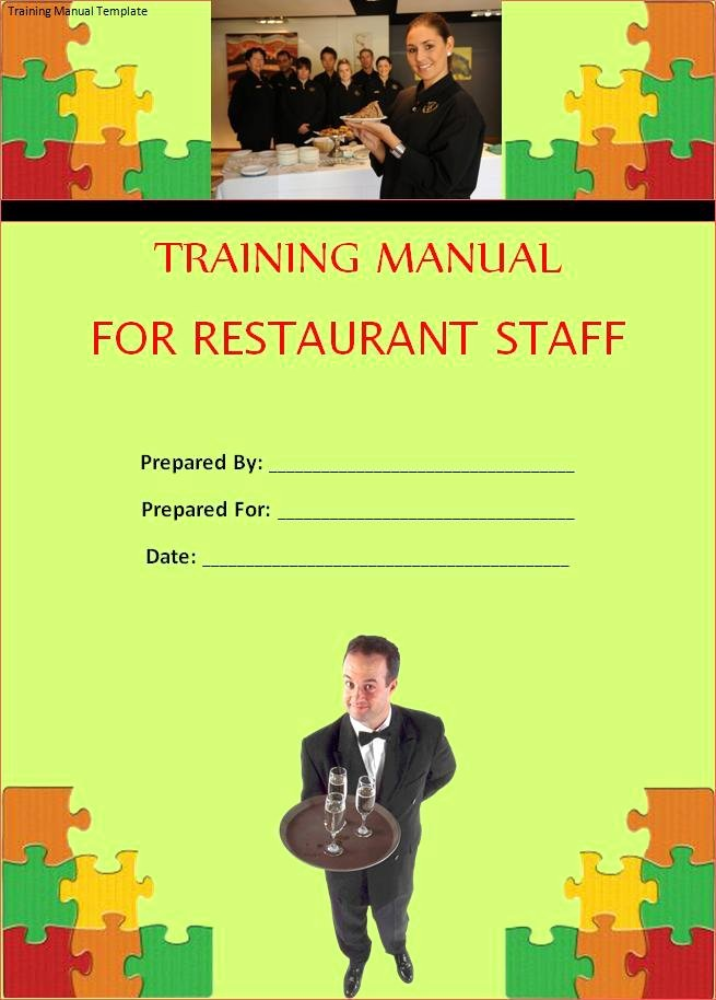 Template for Training Manual Best Of Printable forms
