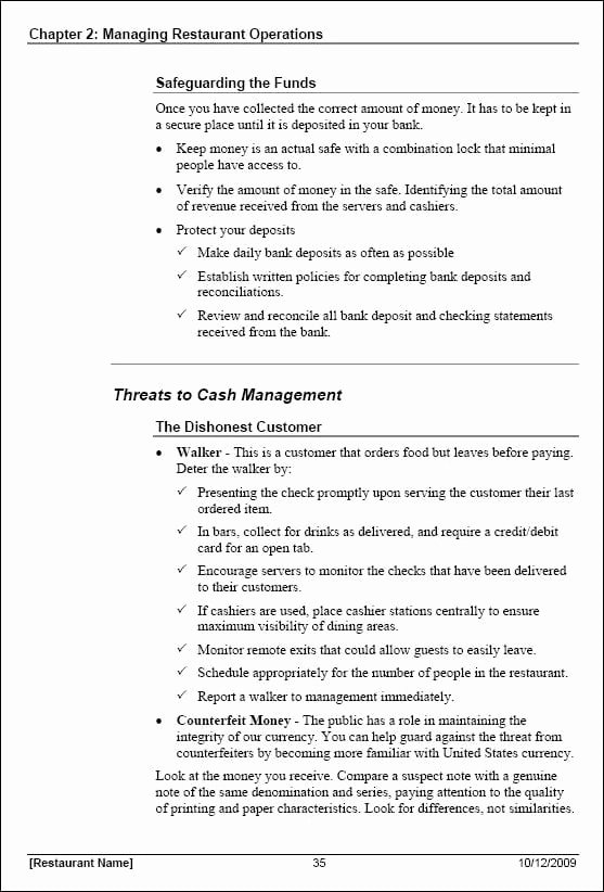 Template for Training Manual Elegant 5 Free Training Manual Templates Excel Pdf formats
