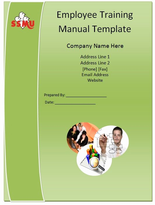 Template for Training Manual Fresh Employee Training Manual Template Guide Help Steps