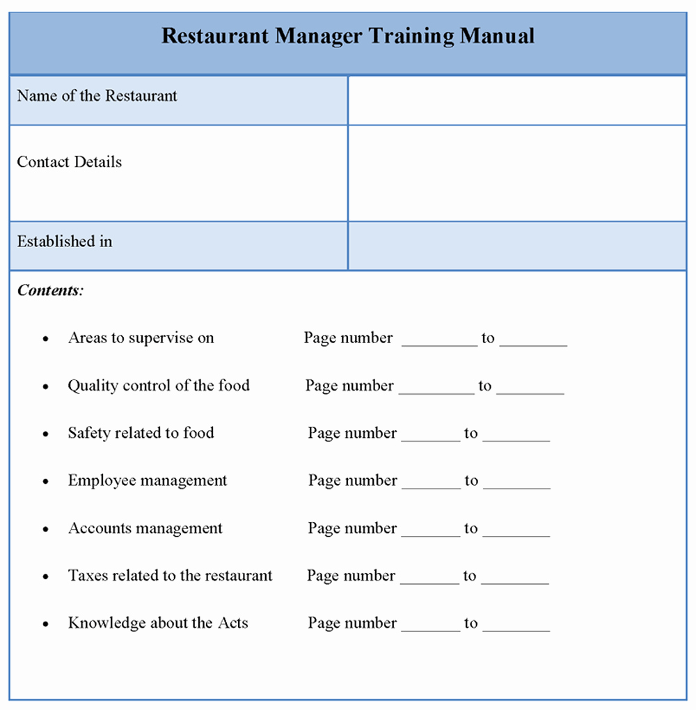 Template for Training Manual Unique Blog Archives Mailupload