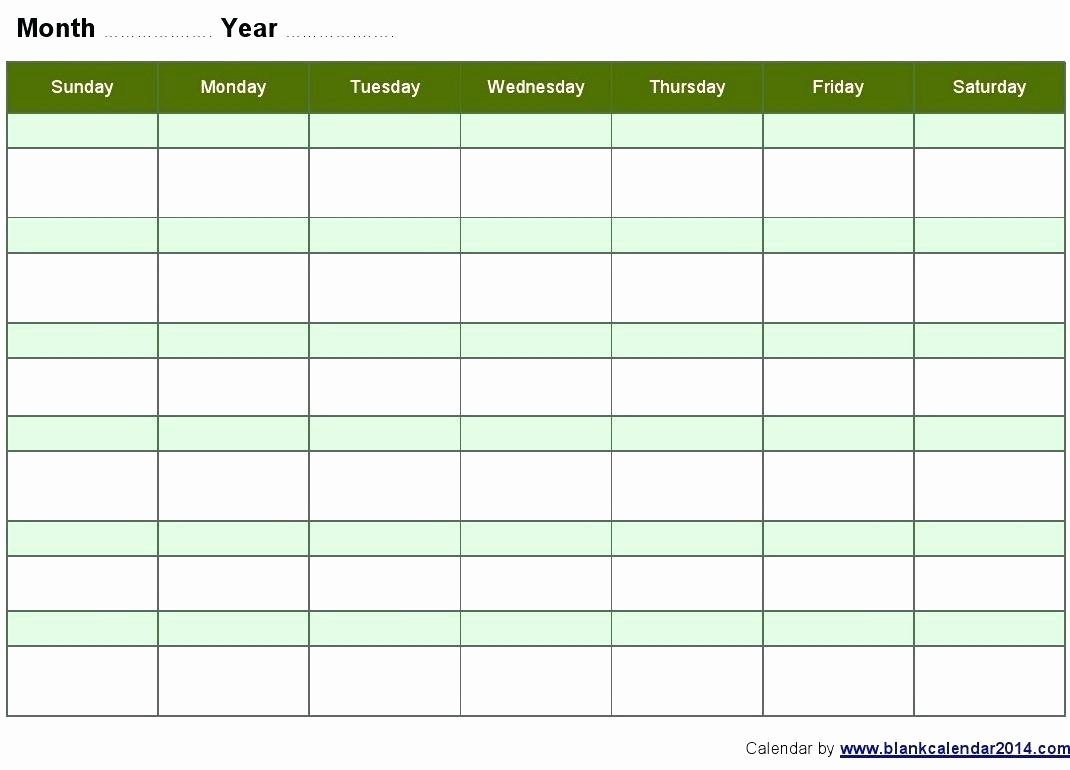 Template for Weekly Schedule Best Of Template Landscaping Schedule Template