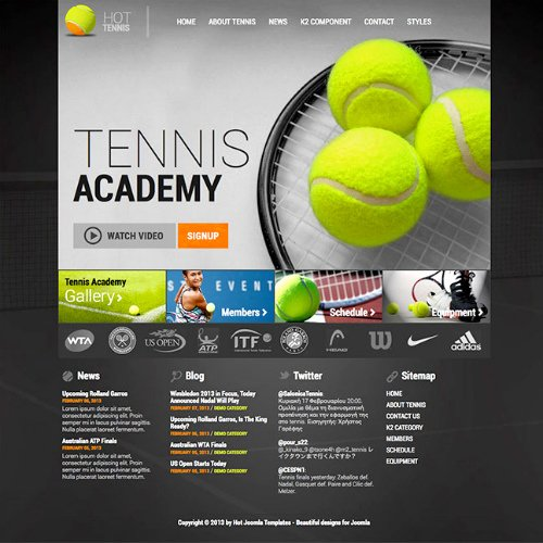 Tennis Flyer Template Free Beautiful Graphicriver Tennis Club and Camp Flyer Template