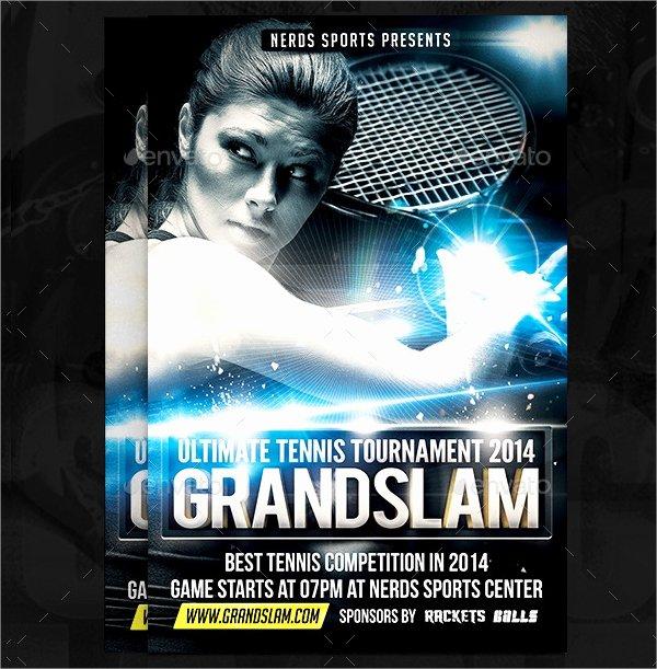 Tennis Flyer Template Free Elegant 16 Tennis Flyers Psd Ai Vector Eps