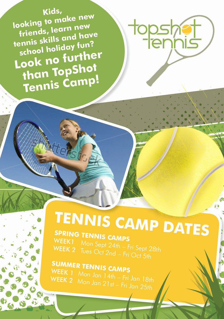 Tennis Flyer Template Free Fresh Playful Personable Flyer Design Design for Barbara Turley