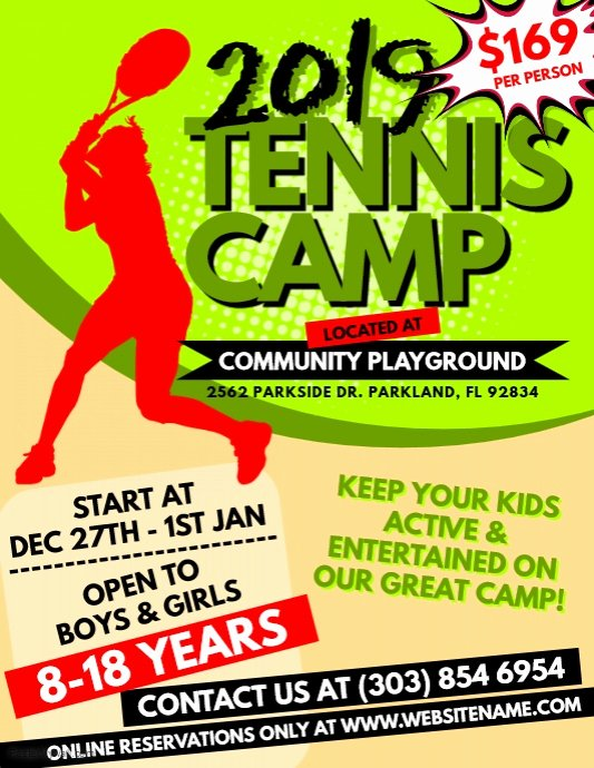 Tennis Flyer Template Free Lovely Tennis Flyer Designs Yourweek 06fa8deca25e