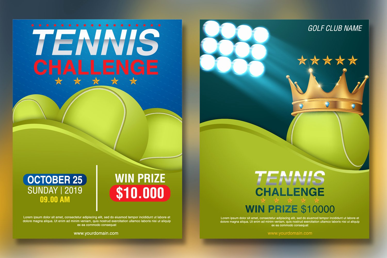 Tennis Flyer Template Free Lovely Tennis tournament Flyer Template