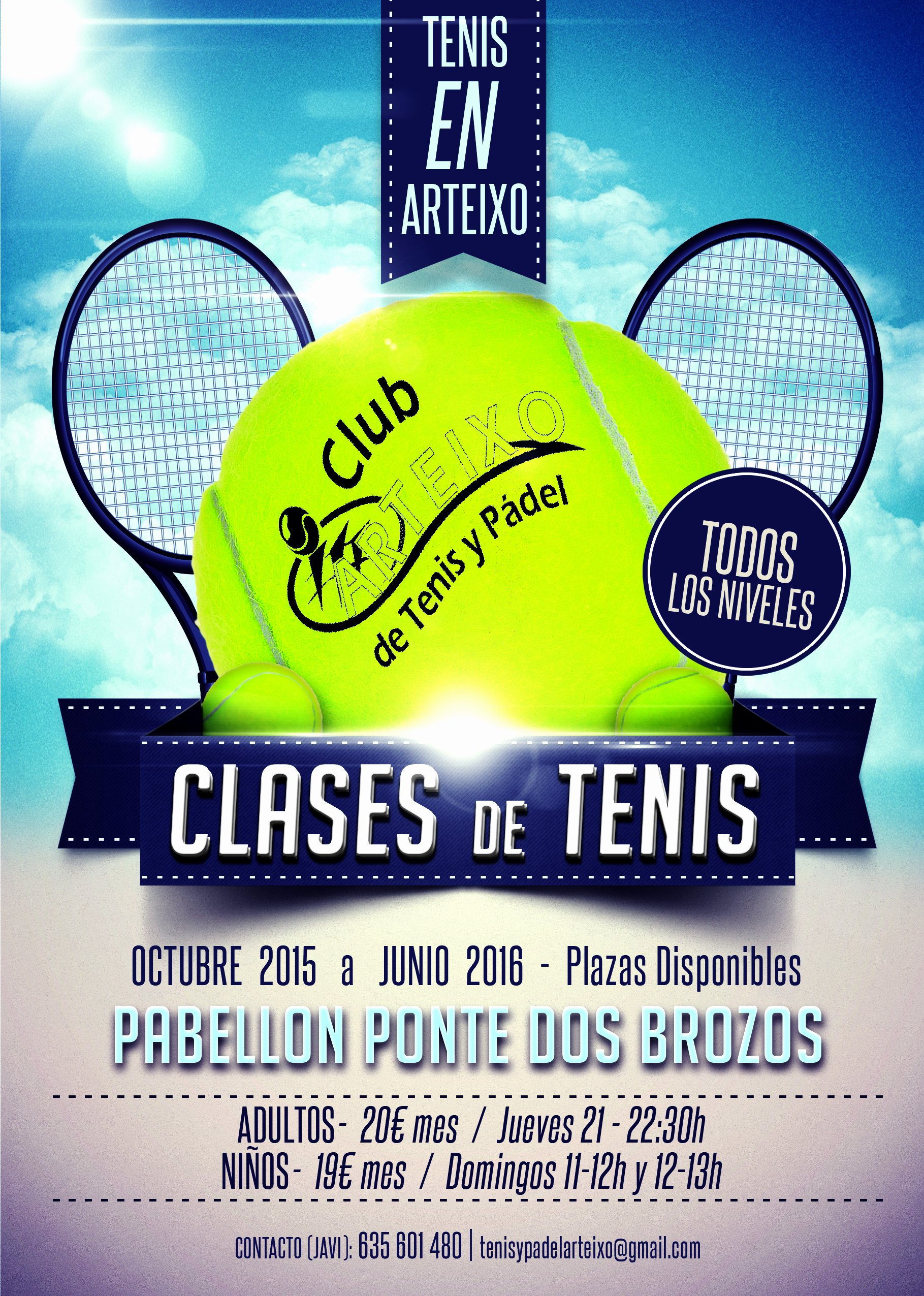 Tennis Flyer Template Free Luxury Club Tenis Y Padel Arteixo Coworking Arteixo