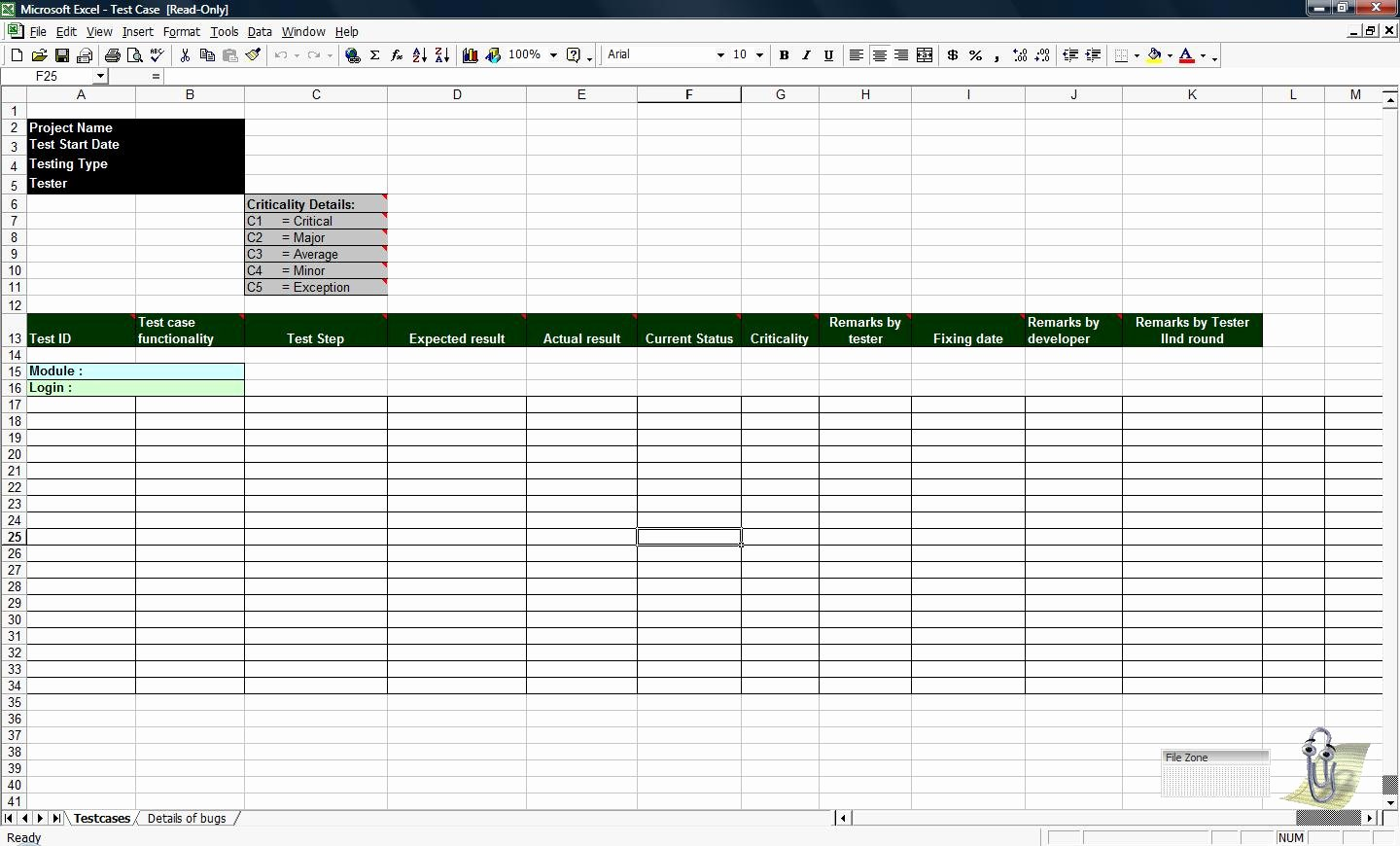 Test Case Template Excel Inspirational Test Case Template Beepmunk
