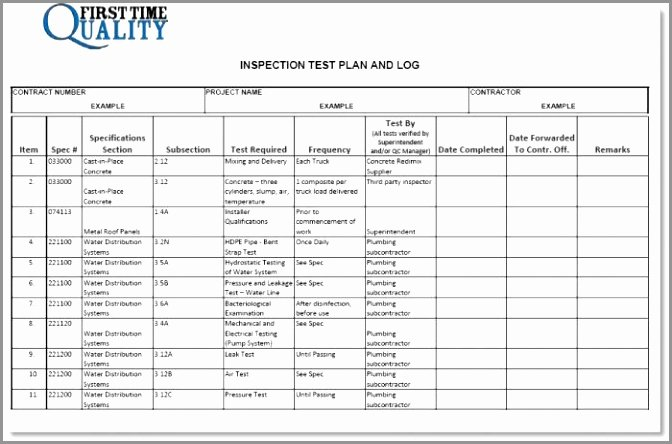 Test Plan Template Pdf Best Of 5 System Test Plan Template Example Rroiw
