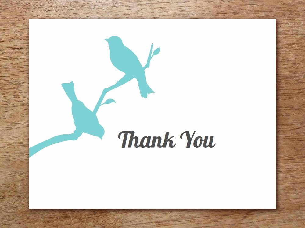 Thank You Card Template Word Awesome 6 Thank You Card Templates Word Excel Pdf Templates