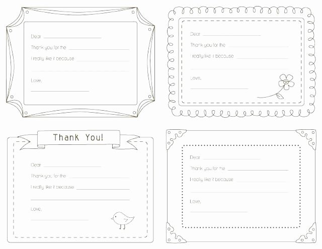 Thank You Card Template Word Awesome Thank You Note Card Template – Jjbuildingfo