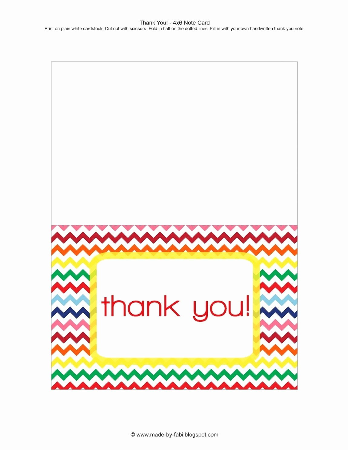 Thank You Card Template Word Best Of Free Printable Thank You Card Template Word