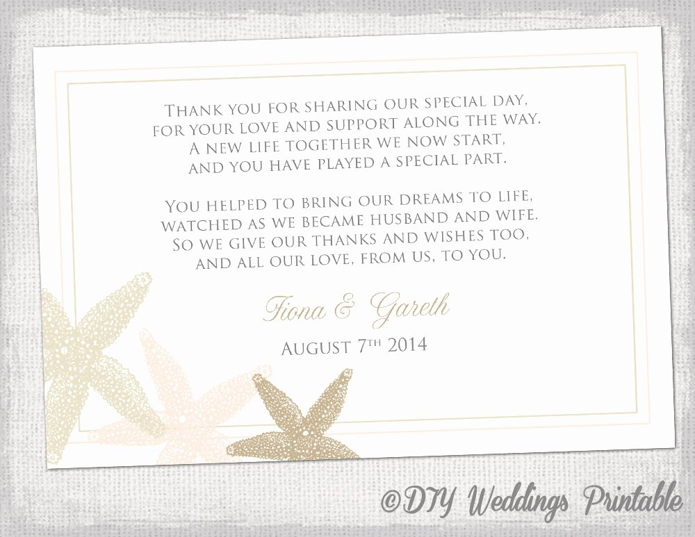 Thank You Card Template Word Elegant Wedding Thank You Card Template Thank You Card Template