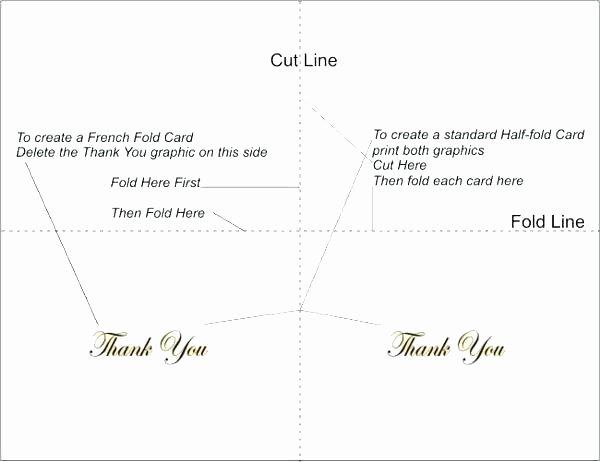 Thank You Card Template Word Fresh Bi Fold Greeting Card Template – Ddmoon