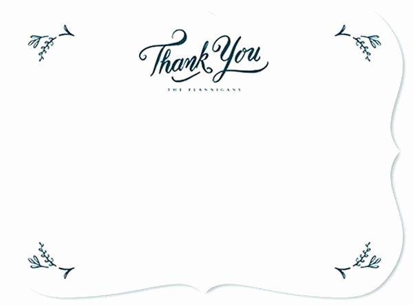 Thank You Card Template Word Inspirational Microsoft Thank You Card Template Note Word Messages