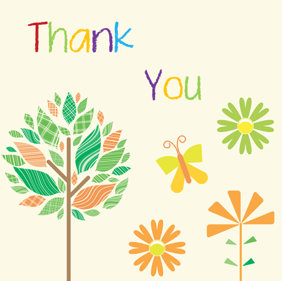 Thank You Card Template Word Lovely Thank You Card Template 6 Beautiful Designs for Word