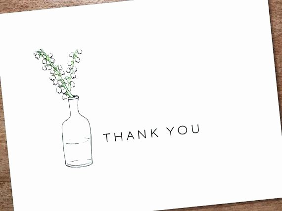 Thank You Card Template Word Lovely Thank You Note Card Templates Printable Template Instant