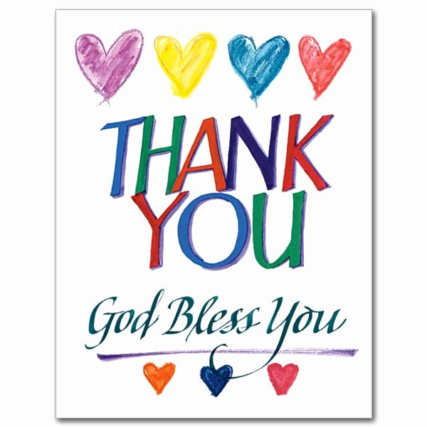 Thank You Card Template Word New 6 Thank You Card Templates Excel Pdf formats