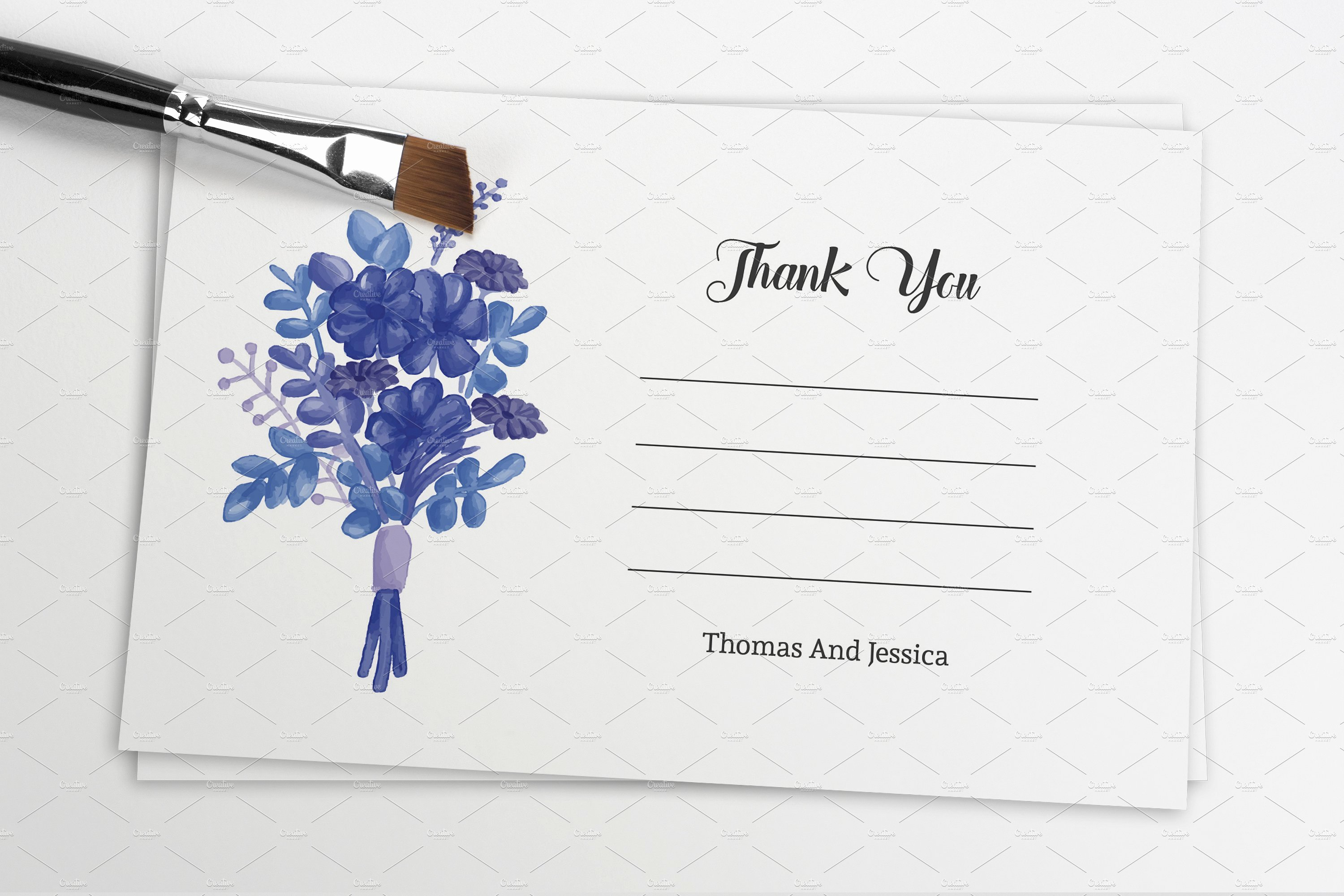 Thank You Card Template Word Unique Microsoft Word Thank You Card Template
