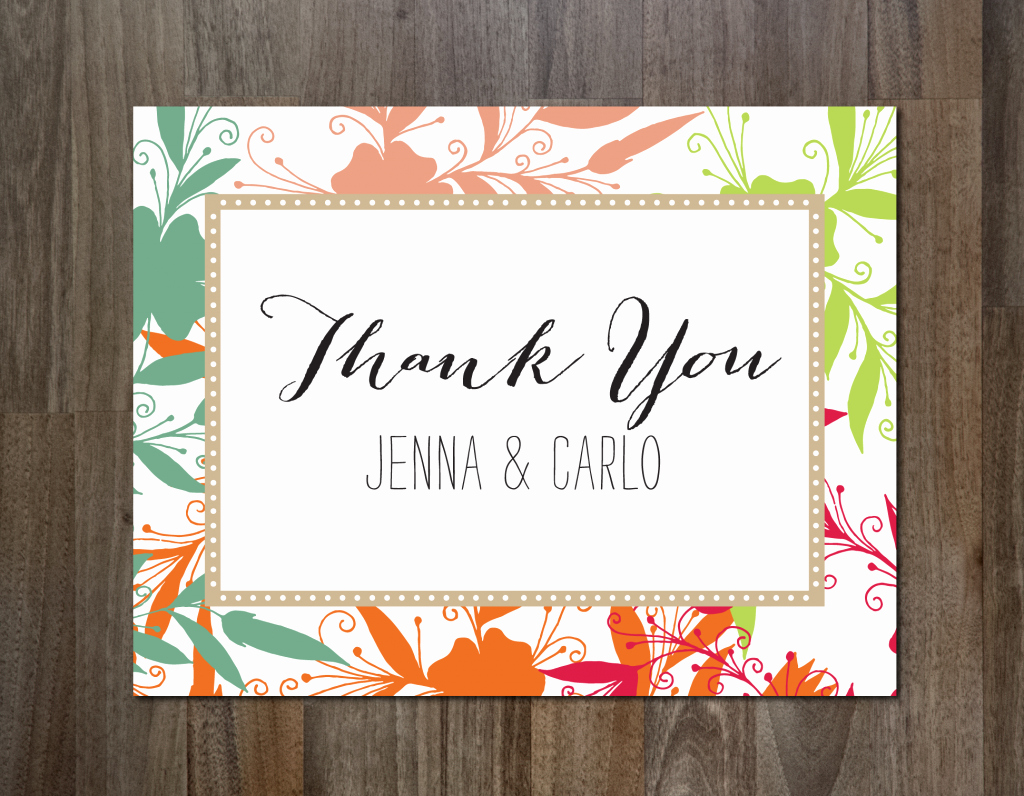 Thank You Cards Template Elegant the Best Thank You Cards Template Designs