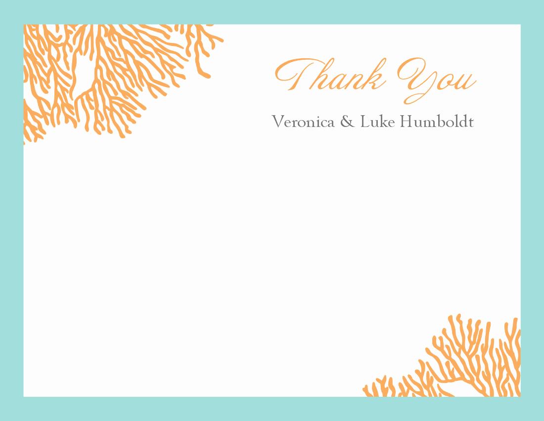 Thank You Postcard Template Elegant Thank You Template