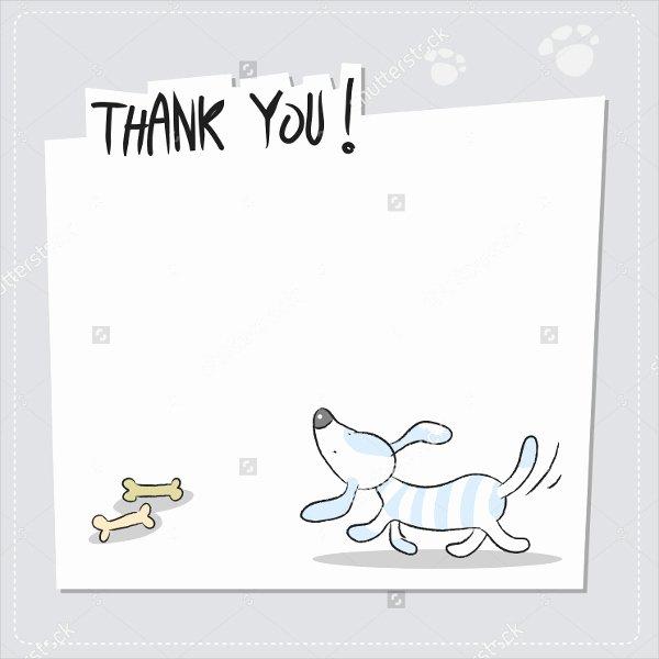Thank You Postcard Template Fresh Free Thank You Postcard Template 11 Funny Thank You Cards
