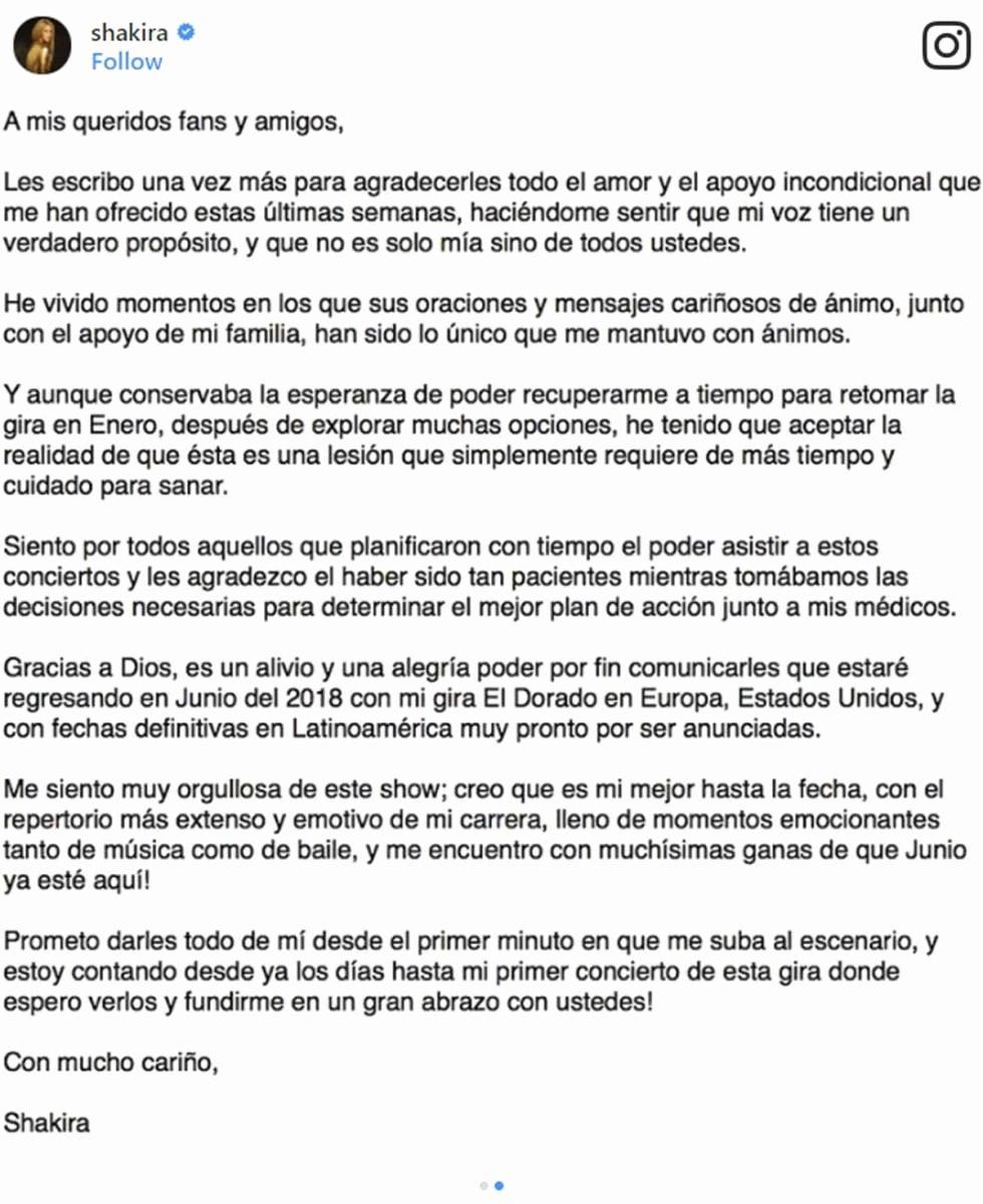 Theatre Press Release Template Luxury Shakira Pone Fecha A Su Regreso A Los Escenarios Revista
