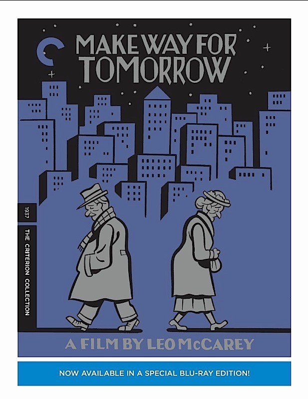 Theatre Press Release Template New Criterion Press Release Make Way for tomorrow Blu Ray