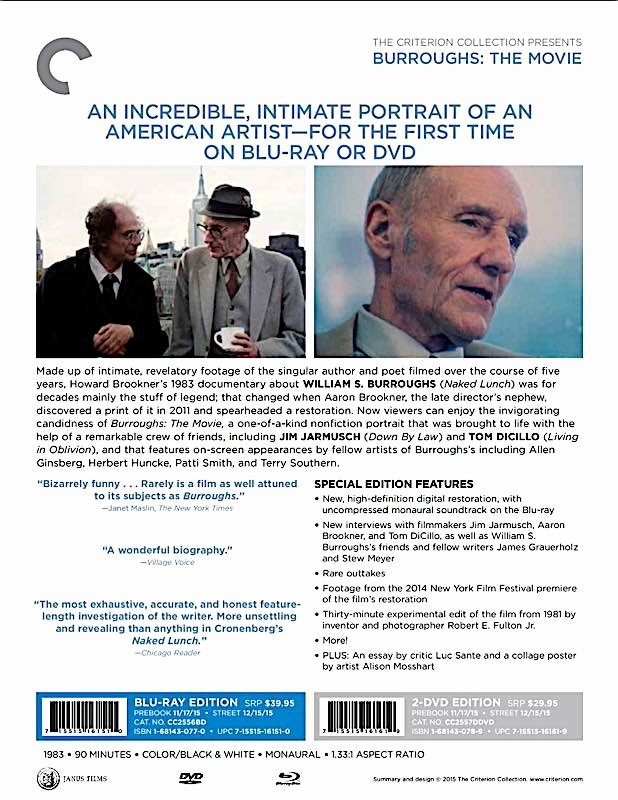 Theatre Press Release Template Unique Criterion Press Release Burroughs the Movie Blu Ray