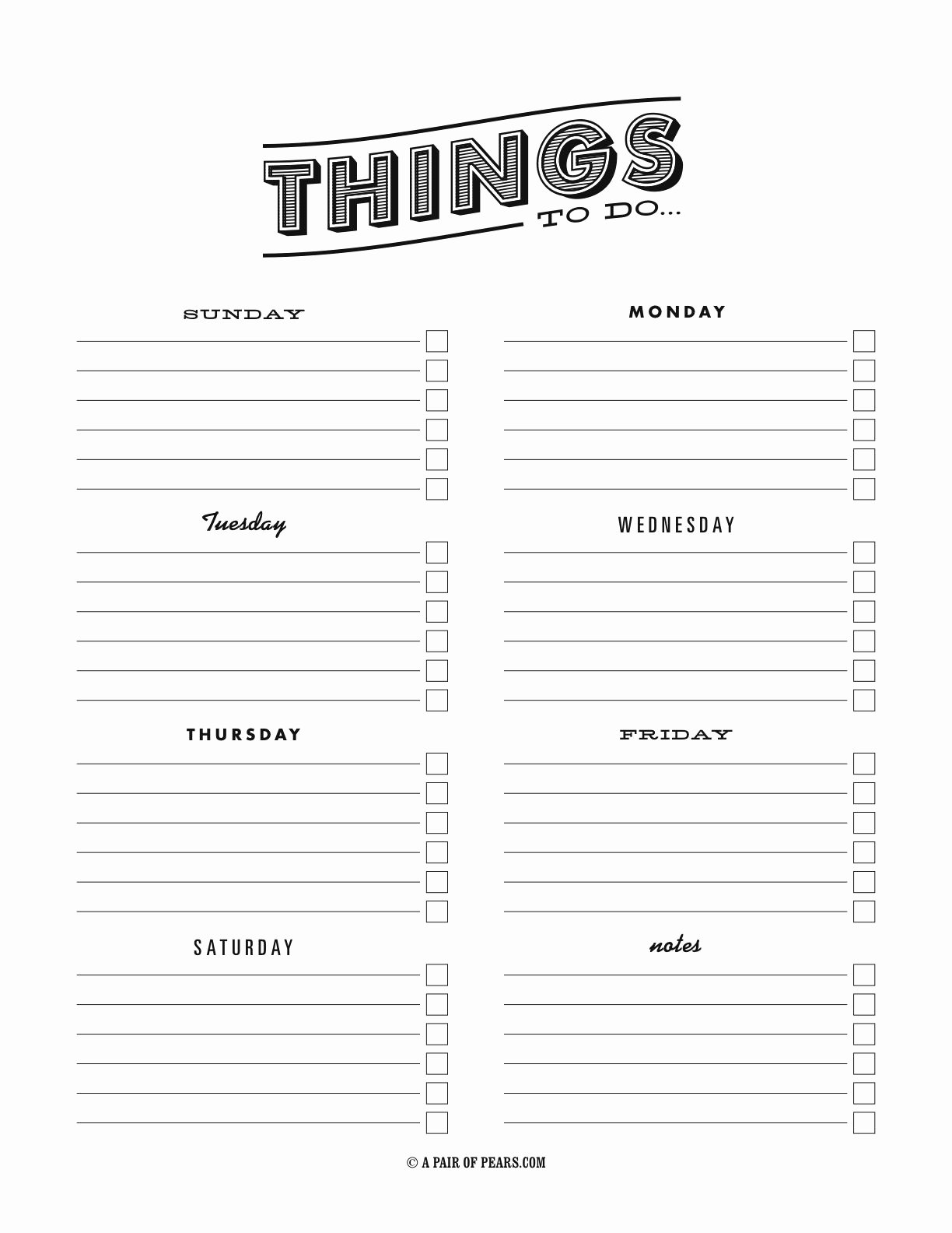 Things to Do List Template Lovely Things to Do Template Pdf Fancy to Do List