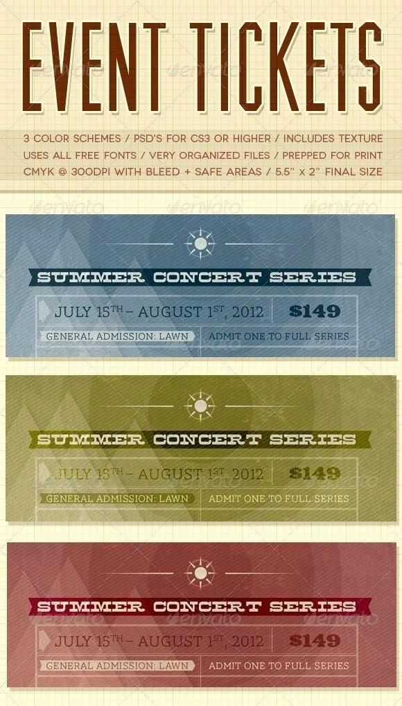 Ticket Design Template Free Best Of Ticket Design Templates Free – Template Gbooks