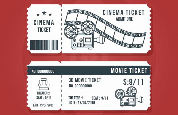 Ticket Design Template Free Inspirational 16 Free Ticket Design Templates for Download Designyep