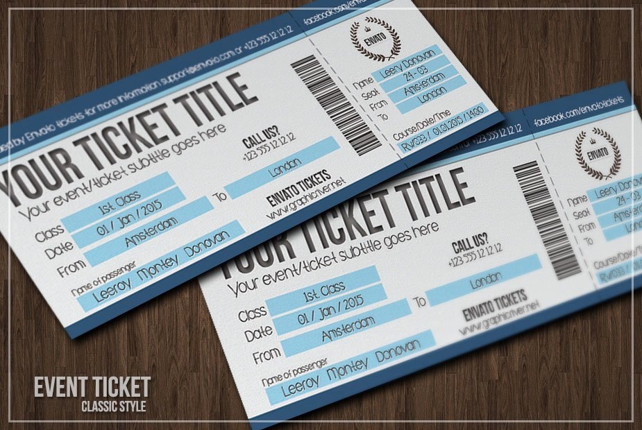 Ticket Design Template Free Inspirational Multipurpose Simple event Tickets Card Templates