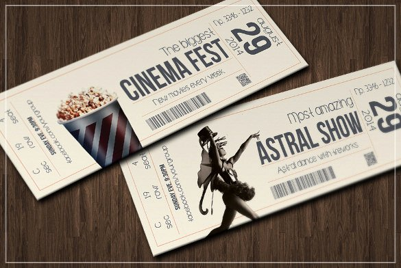 Ticket Design Template Free Luxury 34 Inspiring Examples Of Ticket Designs Psd Ai Word