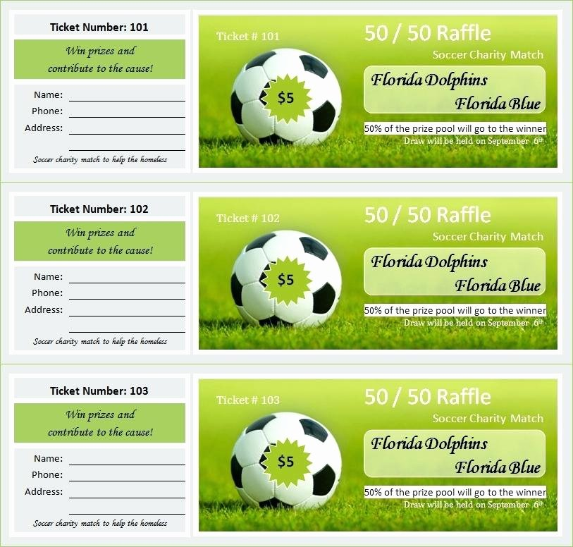 Ticket Template for Pages Beautiful Ticket Template Pages Football Invitation Free Download
