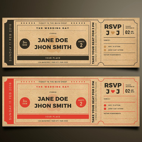 Ticket Template for Pages Elegant 13 Vintage Ticket Designs & Templates Psd Ai Indesign