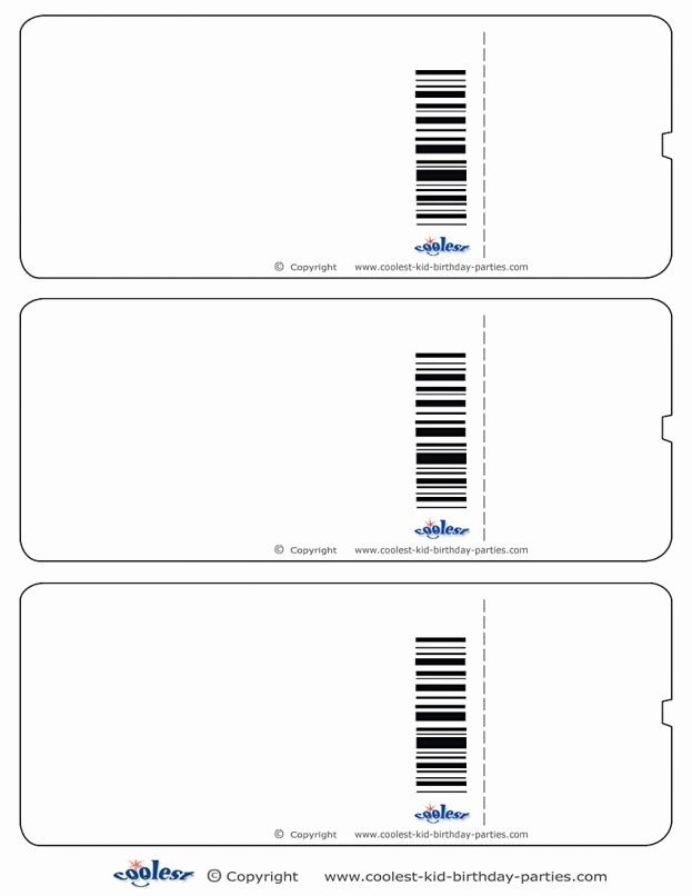 Ticket Template for Pages New Blank Ticket Template Mughals