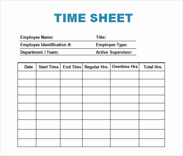 Time Management Log Template Elegant 28 Log Templates