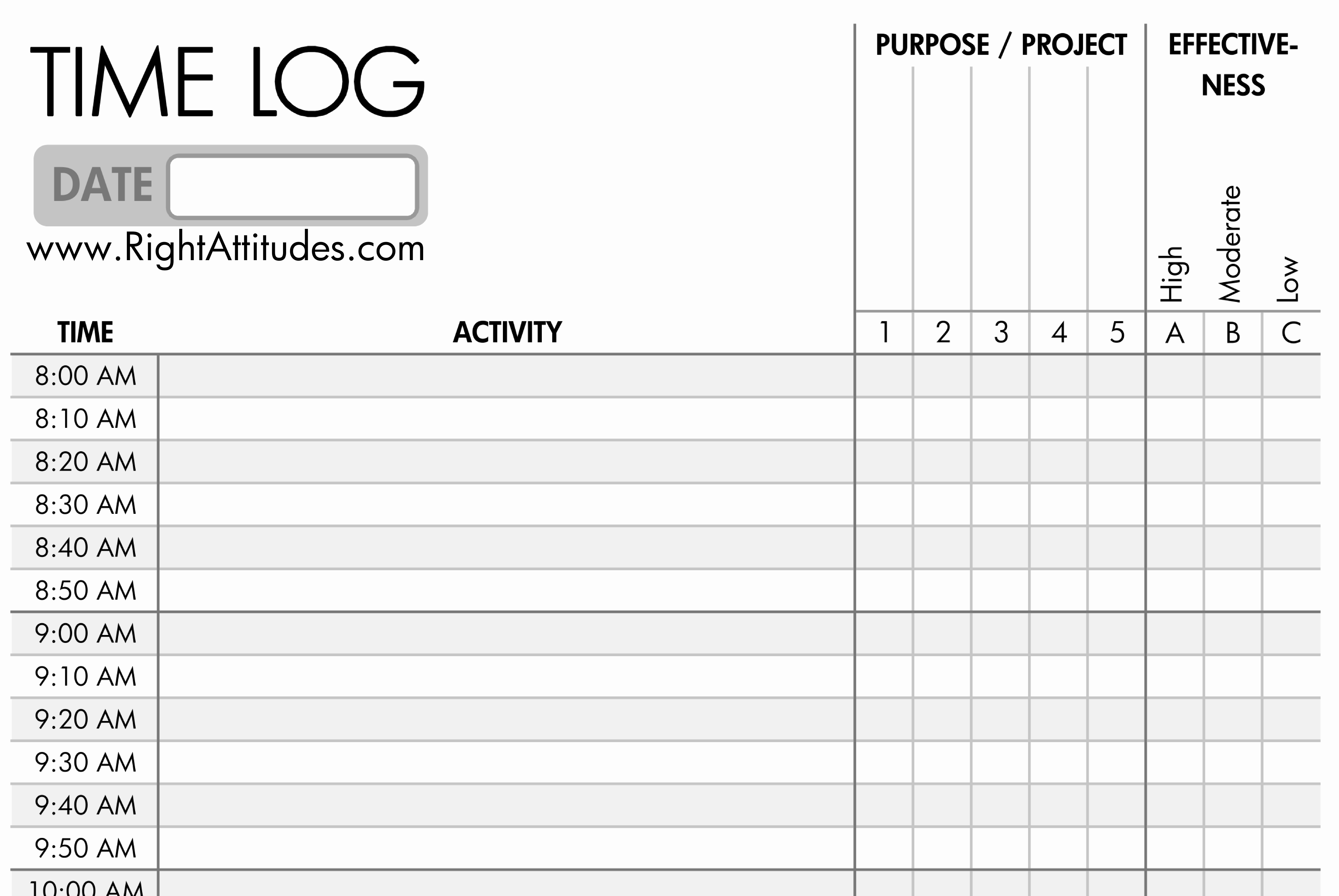 Time Management Log Template Lovely [time Management 2] Time Logging Log where Your Time